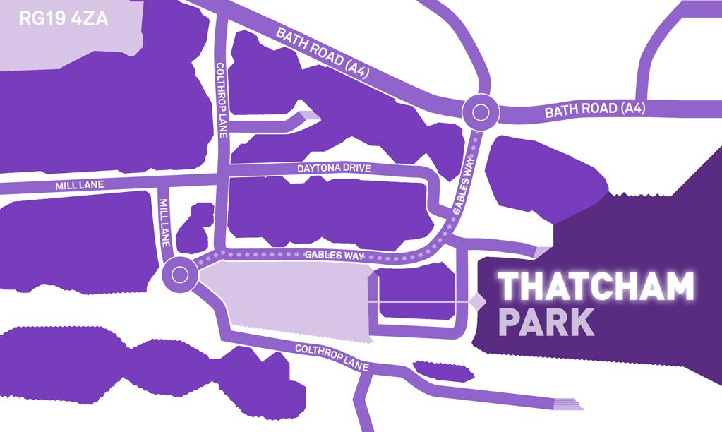 Thatcham Park Map